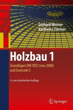 Holzbau 1 von Lißner,  Karin, Werner,  Gerhard, Zimmer,  Karl-Heinz