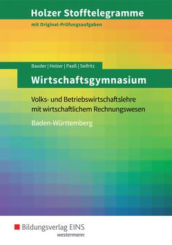 Holzer Stofftelegramme Baden-Württemberg / Holzer Stofftelegramme Baden-Württemberg – Wirtschaftsgymnasium von Bauder,  Markus, Holzer,  Volker, Paaß,  Thomas, Seifritz,  Christian