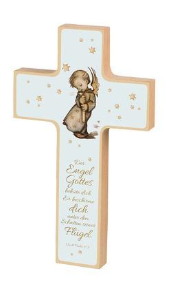 Holzkreuz Sr. M. I. Hummel »Der Engel Gottes«