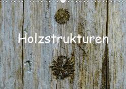 Holzstrukturen / Geburtstagskalender (Wandkalender 2019 DIN A3 quer) von Hampe,  Gabi