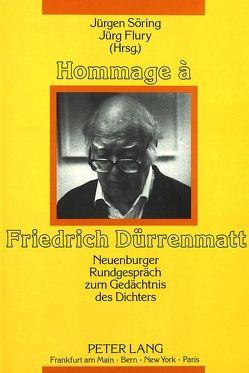 Hommage à Friedrich Dürrenmatt von Flury,  Jürg, Söring,  Jürgen