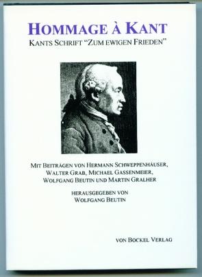 Hommage à Kant von Beutin,  Wolfgang, Gassenmeier,  Michael, Grab,  Walter, Gralher,  Martin, Schweppenhäuser,  Hermann