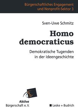 Homo democraticus von Schmitz,  Sven-Uwe