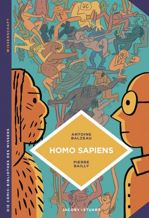 Homo sapiens von Bailly,  Pierre, Balzeau,  Antoine