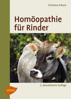 Homöopathie für Rinder von Erkens,  Christine