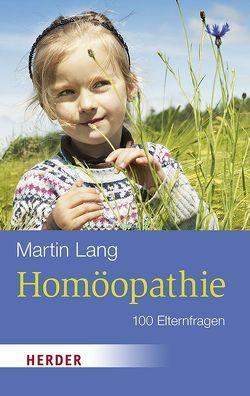 Homöopathie von Lang,  Martin
