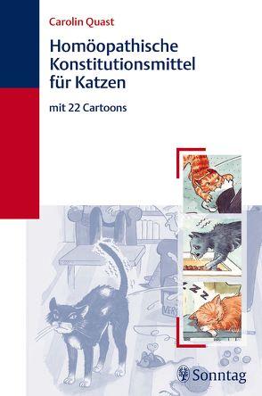 Homöopathische Konstitutionsmittel für Katzen von Quast,  Carolin