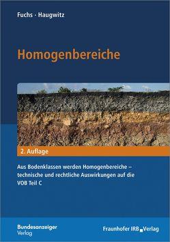 Homogenbereiche. von Fuchs,  Bastian, Haugwitz,  Hans-Gerd