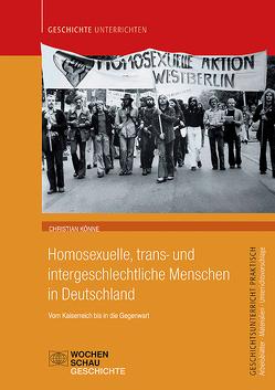 Homosexuelle, trans- und intergeschlechtliche Menschen in Deutschland von Könne,  Christian