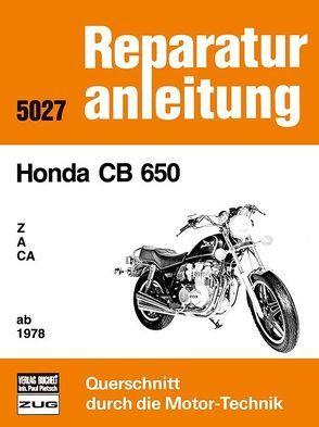 Honda CB 650 Z / A / CA / ab 1978