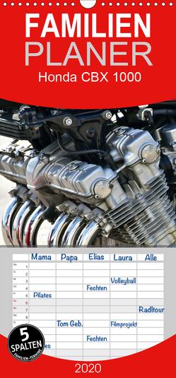 Honda CBX 1000 – Familienplaner hoch (Wandkalender 2020 , 21 cm x 45 cm, hoch) von Laue,  Ingo