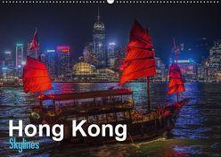 Hong Kong – Skylines (Wandkalender 2019 DIN A2 quer) von Michelis,  Jakob
