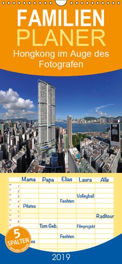 Hongkong im Auge des Fotografen – Familienplaner hoch (Wandkalender 2019 , 21 cm x 45 cm, hoch) von Roletschek,  Ralf