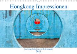 Hongkong Impressionen (Wandkalender 2021 DIN A3 quer) von Kortjohann Photography,  Urte