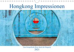 Hongkong Impressionen (Wandkalender 2021 DIN A4 quer) von Kortjohann Photography,  Urte