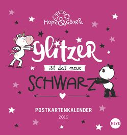 Hope & Gloria Postkartenkalender – Kalender 2019 von Heye
