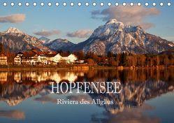 Hopfensee – Riviera des Allgäus (Tischkalender 2019 DIN A5 quer) von Pfleger,  Hans