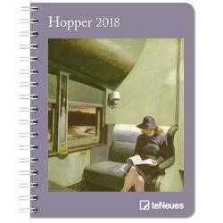 Hopper Buchkalender 2018 von Hopper,  Edward