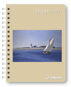 Hopper 2021 – Diary – Buchkalender – Taschenkalender – Kunstkalender – 16,5×21,6 von Hopper,  Edward
