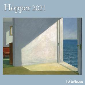 Hopper 2021 – Wand-Kalender – Broschüren-Kalender – 30×30 – 30×60 geöffnet – Kunst-Kalender von Hopper,  Edward