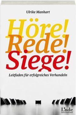 Höre-rede-siege! von Manhart,  Ulrike