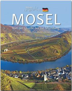 Horizont Mosel – Von der Quelle bis zur Mündung von Kühler,  Michael, Merz,  Brigitte, Spiegelhalter,  Erich