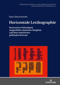 Horizontale Lexikographie von Schwenk,  Hans-Jörg