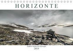 Horizonte – Endlose Weiten aus Norwegen (Tischkalender 2019 DIN A5 quer) von Steiner und Matthias Konrad,  Carmen
