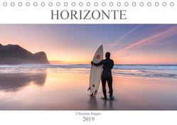 Horizonte (Tischkalender 2019 DIN A5 quer) von Ringer,  Christian