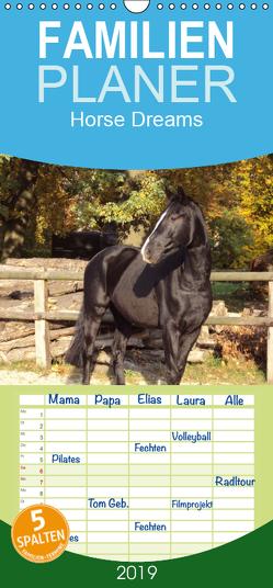 Horse Dreams – Familienplaner hoch (Wandkalender 2019 , 21 cm x 45 cm, hoch) von Meding,  Cerstin