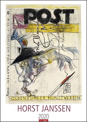 Horst Janssen Kalender 2020 von Janssen,  Horst, Weingarten