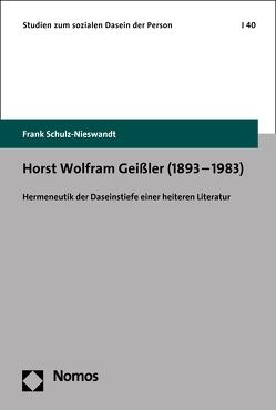 Horst Wolfram Geißler (1893–1983) von Schulz-Nieswandt,  Frank