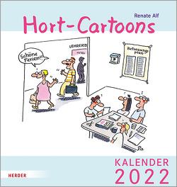 Hort-Cartoons von Alf,  Renate