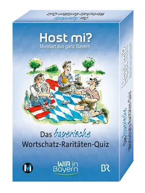 Host mi? – Das bayerische Wortschatz-Raritäten-Quiz von Rowley,  Anthony, Ruge,  Peter
