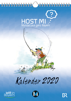 Host mi? Kalender 2020 von Rowley,  Anthony, Ruge,  Peter
