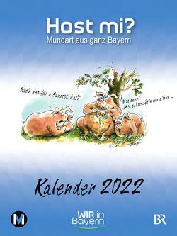 Host mi? Kalender 2022 von Rowley,  Anthony