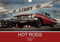 HOT RODS – V8 aus Leidenschaft (Wandkalender 2018 DIN A4 quer) von Picht JEKACZI PHOTO,  Jennifer