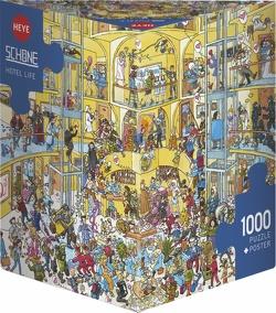 Hotel Life Puzzle von Schöne,  Christoph