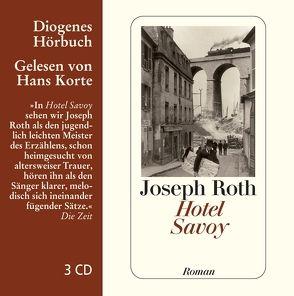 Hotel Savoy von Korte,  Hans, Roth,  Joseph