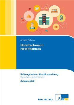 Hotelfachmann/Hotelfachfrau von Sahmer,  Andrea