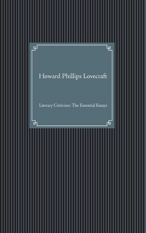 Howard Phillips Lovecraft von Meier,  Jan Niklas