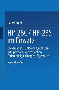HP-28C / HP28S im Einsatz von Stahl,  Rainer