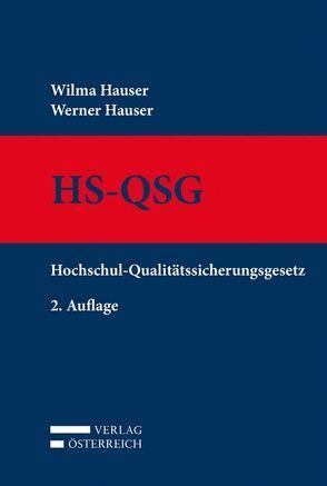 HS-QSG von Hauser,  Werner, Hauser,  Wilma