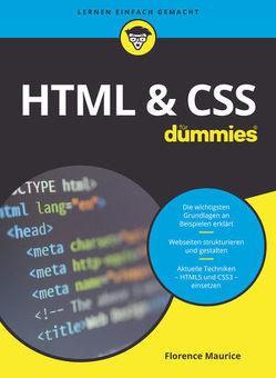 HTML & CSS für Dummies von Maurice,  Florence
