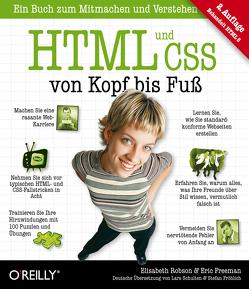 HTML und CSS von Kopf bis Fuß von Freeman,  Eric, Robson,  Elisabeth