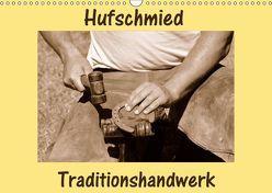 Hufschmied Traditionshandwerk (Wandkalender 2019 DIN A3 quer) von van Wyk - www.germanpix.net,  Anke