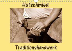 Hufschmied Traditionshandwerk (Wandkalender 2019 DIN A4 quer) von van Wyk - www.germanpix.net,  Anke