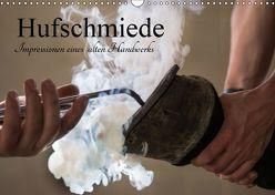 Hufschmiede – Impressionen eines alten Handwerks (Wandkalender 2019 DIN A3 quer) von Rochow,  Holger