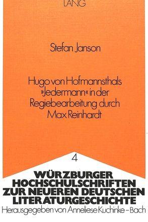 Hugo von Hofmannsthals «Jedermann» in der Regiebearbeitung durch Max Reinhardt