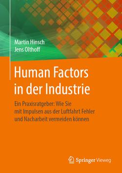 Human Factors in der Industrie von Hinsch,  Martin, Olthoff,  Jens